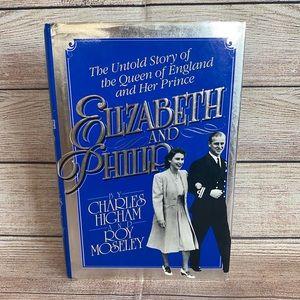 ELIZABETH & PHILIP Untold Story Hardback Book